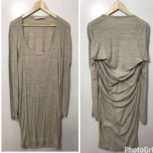 Stella McCartney Grey Taupe Cotton Dress